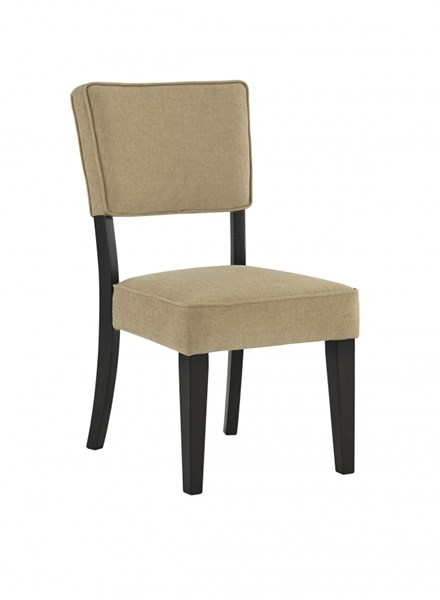 2 Gavelston Urbanology Wood Fabric Dining Upholstery Side Chairs D532-CH-VAR